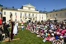 Na nádvoří zámku Kynžvart se uskuteční tradiční Zámecké slavností