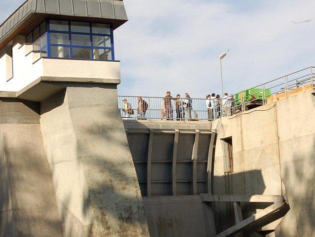Chebská přehrada Skalka.