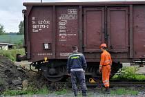 Ve čtvrtek 12. srpna odpoledne vykolejil jedním soukolím manipulační vlak ve stanici Dolní Žandov. Doprava na železniční trati Cheb – Plzeň nebyla nijak narušena.