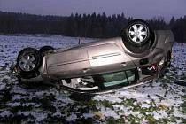Dopravní nehoda u Trstěnic na Mariánskolázeňsku