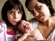 LUCIE WEINMANNOVÁ přišla na svět v sobotu 3. října v 8.55 hodin. Vážila 2860 gramů a měřila 48 centimetrů. V Chebu se těší tatínek Martin s dětmi Honzíkem, Valerií a Martínkem na návrat maminky Lucie a malé Lucinky domů do Chebu.