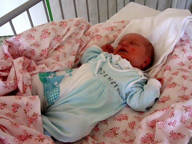 NELA TECHLOVÁ  z Mariánských Lázní se narodila 7. listopadu ve 22.55 hodin. Měřila 50 centimetrů a vážila 3,15 kilogramu. Doma už na ní čekají tři sourozenci
