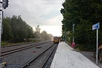 Vlaky na trať Aš Selb vyjedou v prosinci. A tak i v těchto dnech jsou stavební práce na německé straně území v plném proudu. Na české straně je téměř vše hotovo.