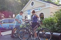 Františkolázeňské infocentrum eviduje velký zájem o cykloturistiku.
