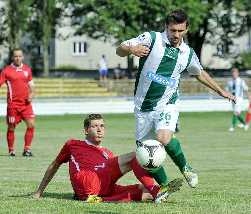 Hvězda Cheb nestačila v pohárovém střetnutí na třetiligový tým Bohemians Praha