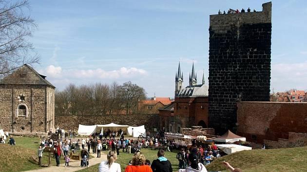 Slavnostní otevírání Chebského hradu 2011.