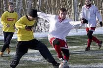 V POSLEDNÍM duelu zimního turnaje zvítězil Union Cheb nad Františkovými Lázněmi 2:0. V tom dnešním posledním mu stačí k celkovému prvenství  na turnaji i remíza.