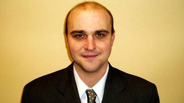Manažer FK Union Cheb, David Kuna.