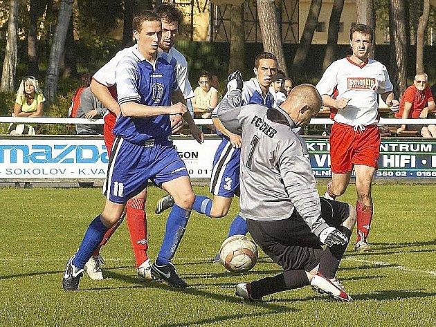 Františkovy Lázně porazily FC Cheb 10:0