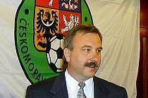 Rostislav Votík, předseda výkonného výboru Karlovarského krajského fotbalového svazu.