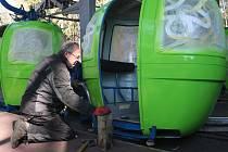 Nejstarší kabinková lanovka v Česku