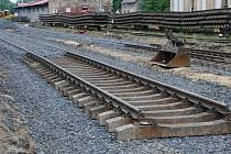V průběhu několika měsíců byly na trati Aš - Selb vyměněny koleje, konstrukční vrstvy a pražce.