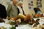 Výstavu hub v Mariánských Lázních.
