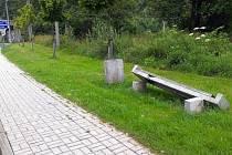 VANDALOVÉ v Hranicích opět řádili. Nedaleko centra města poničili například stromy a lavičku.