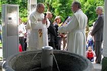 Svěcení pramenů v Lázních Kynžvartu