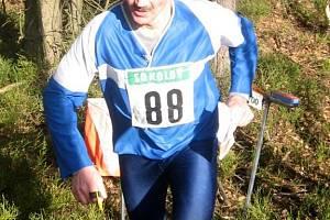 KAREL PILAŘ z Aše (na archívním snímku z letošního března) má závody v orientačním běhu opravdu rád, zvláště pak ty v Mariánských Lázních.