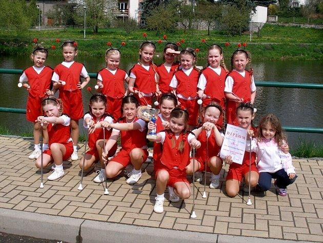 BERUŠKY VYBOJOVALY v Ledči nad Sázavou třetí místo a bronzový pohár v dětské kategorii.