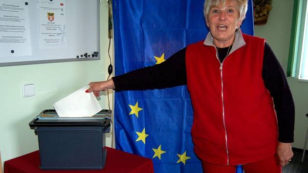 Volby do europarlamentu v Poustce na Chebsku