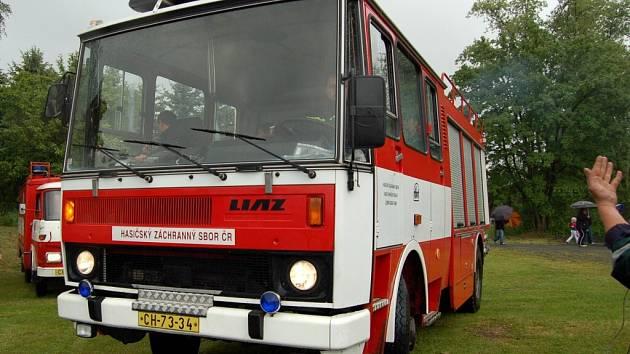 Hasiči v Lázních Kynžvartě mají nové zásahové vozidlo