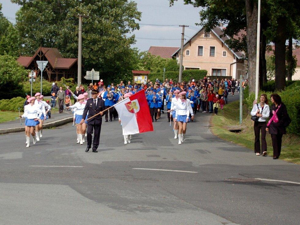 Slavnostní zahájení nové lázeňské sezóny v Lázních Kynžvartu
