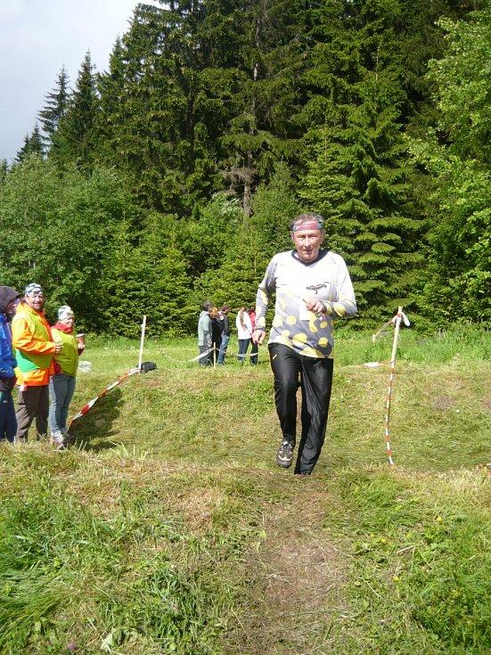 Druhé místo v B finále obsadil Jan Michalec.