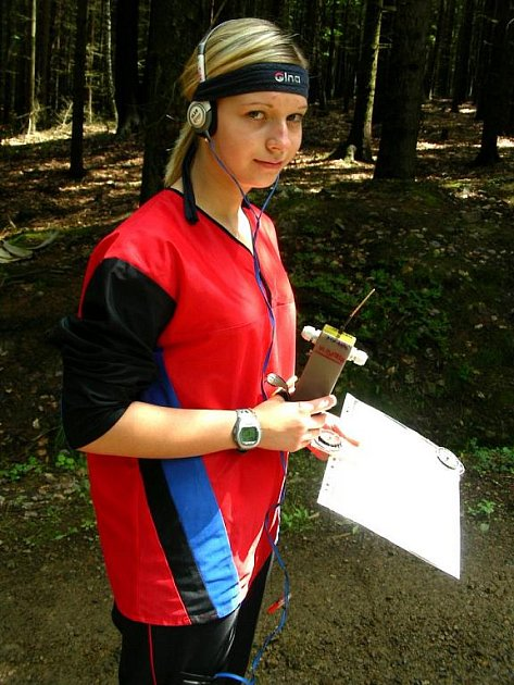 V ČESKÉM týmu bojuje na Evropě také chebská Anna Oplová, členka ROB Cheb.