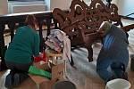 Příprava muzea v Chebu na otevření.