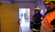 V jednom z bytů v pečovatelském domě hořelo