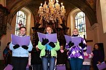 Vánoční koncert v kostele v Dolním Žandově.