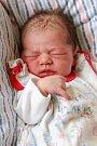 ELIŠKA RUPPRECHTOVÁ bude mít v rodném listu datum narození úterý 26. dubna v 4.30 hodin. Na svět přišla s váhou 2 940 gramů a mírou 49 centimetrů. Maminka Hana a tatínek David se radují z malé Elišky doma v Aši.