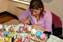 Zdobení velikonočních kraslic