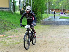 závod horských kol přivítaly františkolázeňské lesoparky po jedenácti letech.