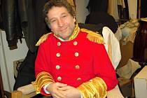Herec Jindřich Skopec (na snímku) už v chebském divadle účinkuje 16 let.