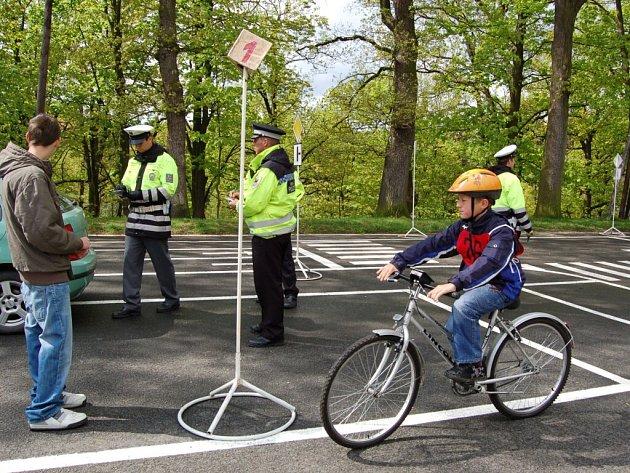 Dopravní soutěž v DDM Sova Cheb