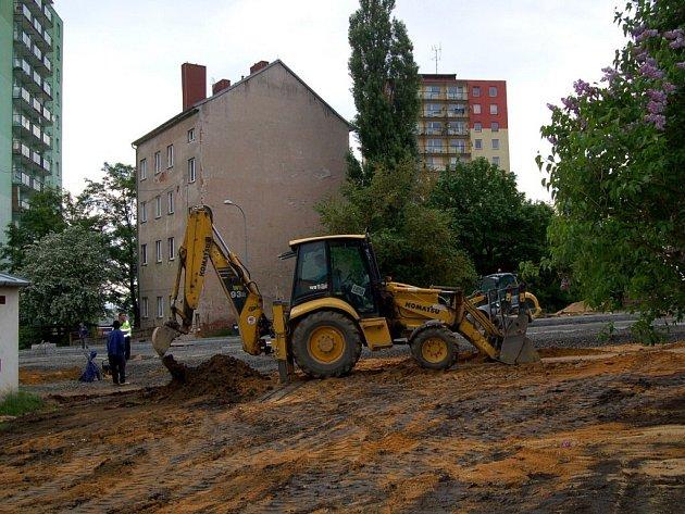 Rekonstrukce Palackého ulice v Chebu