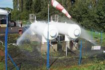 Složky Integrovaného záchranného systému (IZS) nacvičovaly ve Velké Hleďsebi v plnírně propan – butanu zásah při úniku plynu.