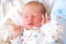 MARTIN HUML bude mít v rodném listě datum narození středu 15. dubna v 20.35 hodin. Při narození vážil 3 780 gramů a měřil 53 centimetrů. Z malého Martínka se raduje doma v Chebu sestřička Eliška spolu s maminkou Kateřinou a tatínkem Martinem.