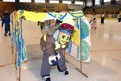 Karneval Školičky bruslení na zimním stadionu v Mariánských Lázních