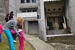 Den otevřených dveří na přehradní nádrži Skalka 2013.