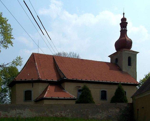 Kostel sv. Osvalda v Nebanicích n Chebsku