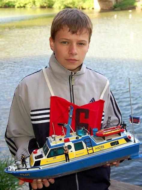 Lodní modeláři soutěžili v Cheb