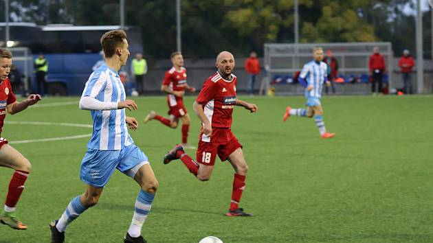 Chebská Hvězda zvládla zápas s Klatovy, které porazila v poměru 2:1.