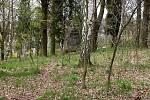 Zarostlý hřbitov válečných zajatců z 1. světové války v Chebu - Podhradě