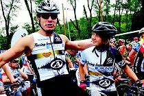 TRIATLONISTA Tomáš Slavata ve spolupráci s Nadačním fondem Albert pořádá v Chebu regionální kolo triatlonového závodu pro děti všech věkových kategorií.