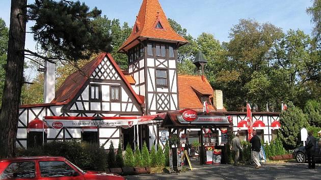 Restaurace Amerika, Františkovy Lázně.