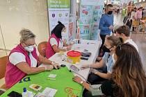O víkendu si mohli lidé ověřit, jak jsou na tom zdravotně. V obchodním centru Globus v Jenišově totiž probíhala akce Barometr zdraví.