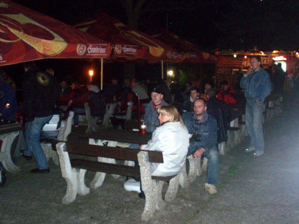 Koncert Dana Bárty na Ronaku u Jesenické přehrady