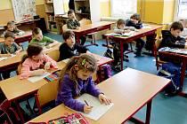 Školní okénko: Děti ze základní školy v Hranicích.