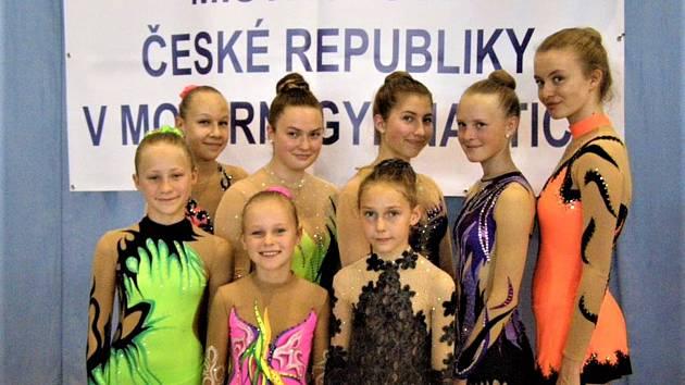 Gymnastky GSK Mariánské Lázně.