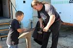 Další ročník úspěšné akce se uskutečnil ve Skalné. Byly to dožínky, kde se bavili děti i dospělí.